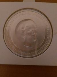 50 Gulden 1998 Hans van Houwelingen ''350 jaar vrede van Munster'' Zilver  UNC