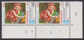 Plaatfout  1444 PM1 Postfris  Cataloguswaarde 18,00 (staat te laag)  E-4082
