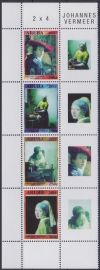 NVPH  564-567 Johannes Vermeer Postfris  2011 A-0872
