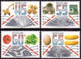 NVPH  1228-1231  Exportzegels  Postfris