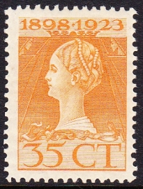 Plaatfout  127 PM Postfris  Cataloguswaarde 70.00  E-3062