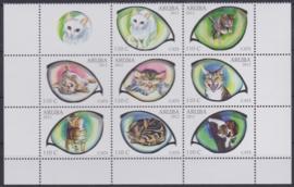 NVPH  623-630  Katten  Postfris  2012 A-0873