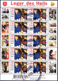 NVPH V2909 Leger des Heils 125 jaar 2012  Gestempeld 1e dag van uitgifte