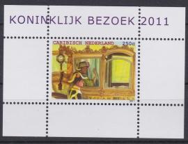 NVPH    18 Koninklijk bezoek Postfris A-0940