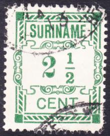 Plaatfout Suriname 66a type 2 P  Gebruikt
