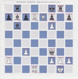 ZNB  1845-1854 Schaken: Anderssen-Dufresne 2011 Cataloguswaarde 25,00 BK-SP1
