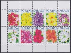 NVPH  514-523 Bloemen Postfris  2011 A-0882