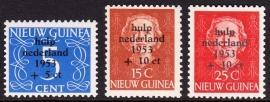 NVPH 22-24 Watersnoodzegels Postfris cataloguswaarde 45,00 E-0906