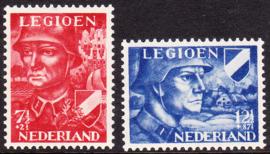 NVPH  402-403 Legioenzegels Postfris Cataloguswaarde 11,25