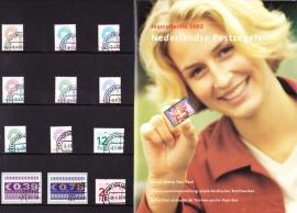 Jaargang 2002  Compleet GESTEMPELD in originele verpakking