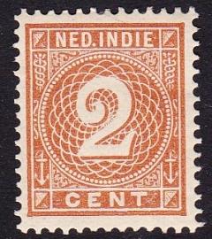 NVPH 18 Cijferzegel Ongebruikt cataloguswaarde: 1.50  E-2220