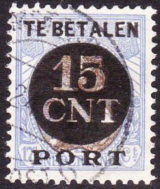 Postpakket-verrekenzegel PV2a gebruikt Cataloguswaarde 60.00