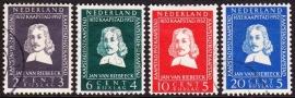 NVPH  578-581 Jan van Riebeeck Gebruikt  CW 18.00  E-2148
