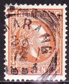 NVPH 9 Koning Willem 3 Gebruikt Cataloguswaarde: 0,50 E-0809