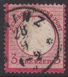 Mi    9 Freimarken: Adler mit kleinem brustschild Gebruikt / Used Cataloguswaarde: 17,00 E-4703