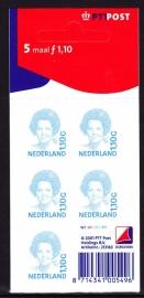 V1492b Beatrix inversie Postfris