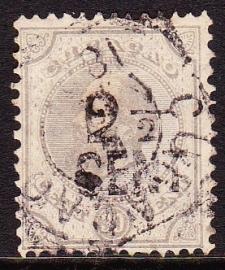 NVPH 25 Hulpzegel Gebruikt Cataloguswaarde: 10.00  E-2022
