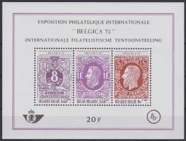 OBP BL48 Internationale filatelistische Tentoonstelling 1970 Postfris / MNH Cataloguswaarde: 3,60 A-0392