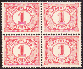 Plaatfout   51 PM13 Postfris in blok van 4 Cataloguswaarde: 110,00+++