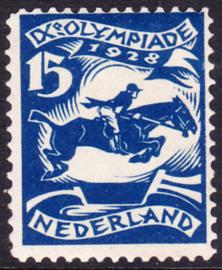 Plaatfout  218 PM8  Olympiade 1928 Ongebruikt Cataloguswaarde 110.00