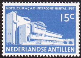 NVPH  269 ''Opening hotel Intercontinental Curacao'' 1957 Postfris cataloguswaarde: 0,50