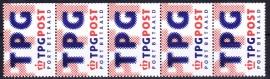 NVPH BZ 9 Port Betaald '' PTT wordt TPG ''  Postfris A-0445