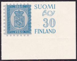 Finland 1960: Michel 516 met velranden Postfris