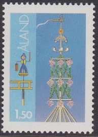 Åland 1985 Mi: 10  Postfris / MNH  Cataloguswaarde: 0,80 E-4304
