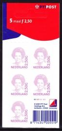 V1499b Beatrix inversie Postfris