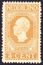 NVPH   91 Jubileum 1913 Postfris Cataloguswaarde 3.00