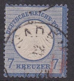 Mi    10 Freimarken: Adler mit kleinem brustschild Gebruikt / Used Cataloguswaarde: 120,00 E-1491