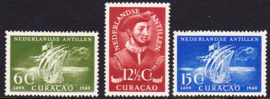 NVPH  206-208 Ojeda Postfris cataloguswaarde: 18.00  E-8101