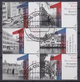 NVPH 2850-2855  ''Bond Heemschut'' 2011  Gestempeld cataloguswaarde 6,00 A-0791
