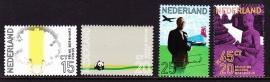 NVPH  992/995 60e verjaardag prins Bernhard Postfris