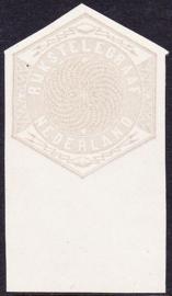 Nederland Proef Rijks-telegraaf TELEGRAMZEGEL cataloguswaarde --.--