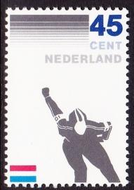 NVPH  1261  100 jaar Schaatsrijders Bond Postfris