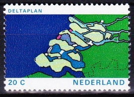 Plaatfout  1002 P Postfris  Cataloguswaarde 15.00  E-2624