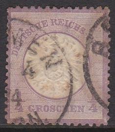 Mi   16 Freimarken: Adler mit GroBern brustschild Gebruikt / Used Cataloguswaarde: 130,00 E-4704