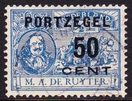 Port P42F ''de Ruyter'' + plaatfout 87 P  Gebruikt  cataloguswaarde 195,00 E-2935
