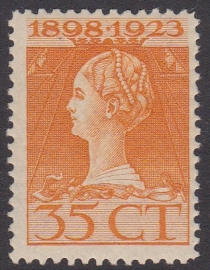 NVPH  127B Tanding  11 x 11,5  Ongebruikt  Cataloguswaarde 10,00  E-4690