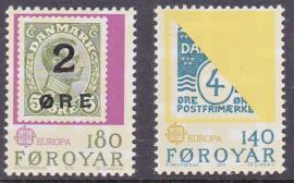 MI:  43-44  Europazegels 1979 Postfris  E-1109