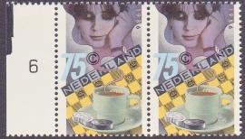 Plaatfout  1360 P   Postfris    Cataloguswaarde  30.00  E-5820