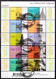 NVPH V2104-2113 Indistrueel erfgoed 2002  Gestempeld cataloguswaarde 10,00 A-0185