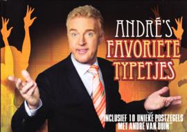 Themaboek Andre's favoriete typetjes inc. 10 persoonlijke postzegels