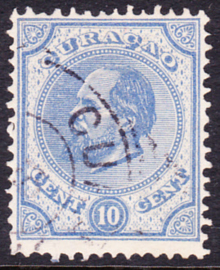 NVPH  4C Koning Willem III Gebruikt Cataloguswaarde: 27.50