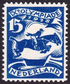 Plaatfout  218 PM2  Olympiade 1928 Ongebruikt Cataloguswaarde 110.00