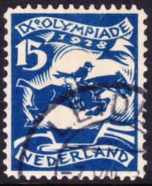 Plaatfout   218 PM7 Olympiade 1928  Gebruikt