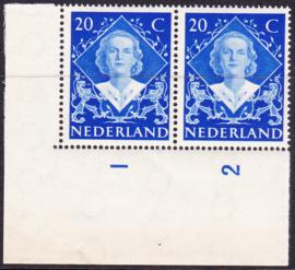 Plaatfout  507 PM1  Postfris  Cataloguswaarde 22,00
