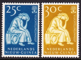 NVPH 61-62 Vluchtelingenzegels Postfris cataloguswaarde 1,60 E-2231