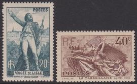 Mi:  319-320 Postfris Cataloguswaarde 13,00 E-5533